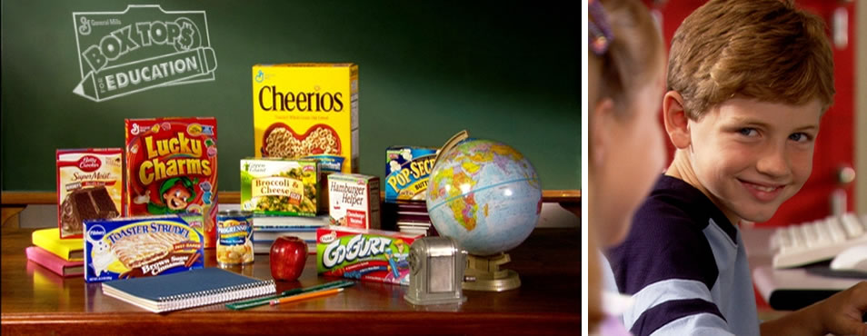 Box Tops for Education Commercial