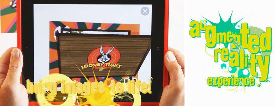 Looney Tunes Augmented Reality